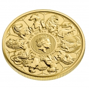 Queen's Beasts Completer Coin 1 oz Gold - 3d
