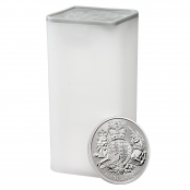 Royal Arms 1 oz Silber 2020 - Tube