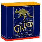 Kangaroo 1 oz Silber 2020 Gilded - Box