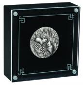 Lunar Maus 2 oz Silber Antiqued 2020 - Diarama