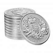 Royal Arms 1 oz Silber 2021 - Logo Royal Mint