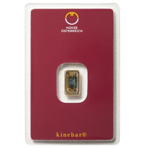 Goldbarren Kinebar 1 Gramm M 252 Nze 214 Sterreich Online