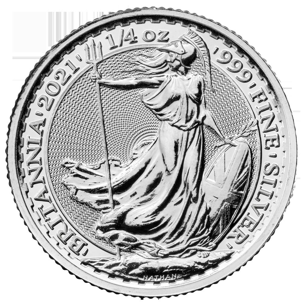 Britannia 1/4 oz Silver 2021