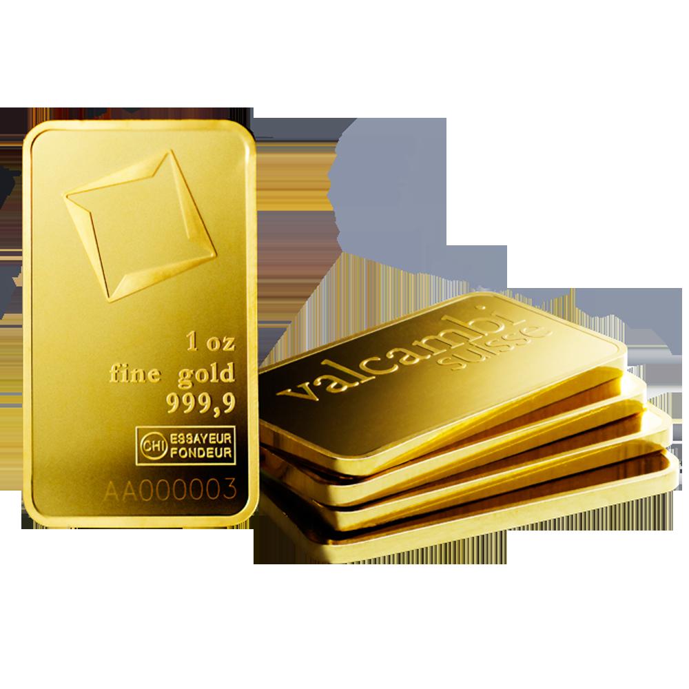 GOLD BAR 1 OZ VALCAMBI