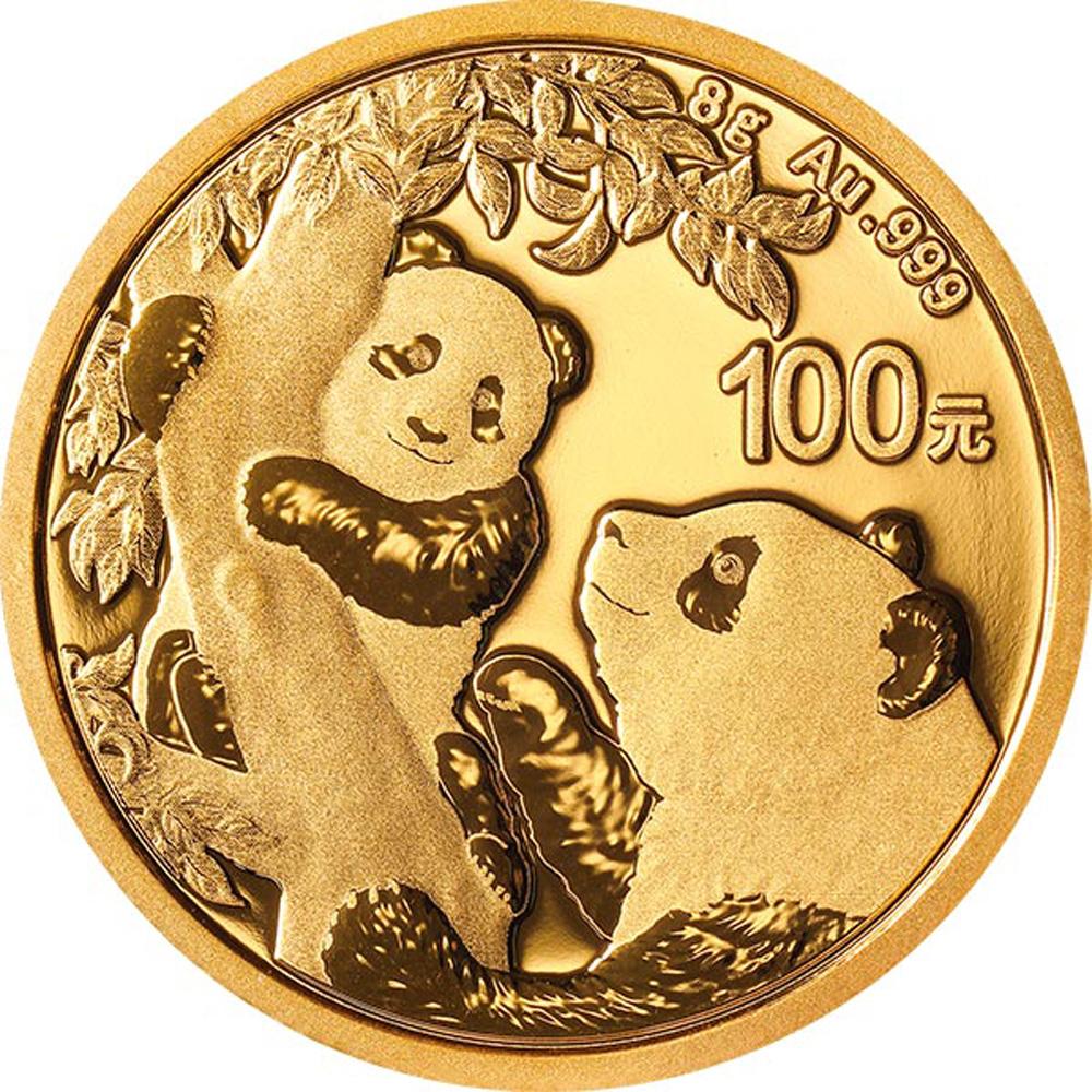 PANDA 8 GRAMM GOLD 2021