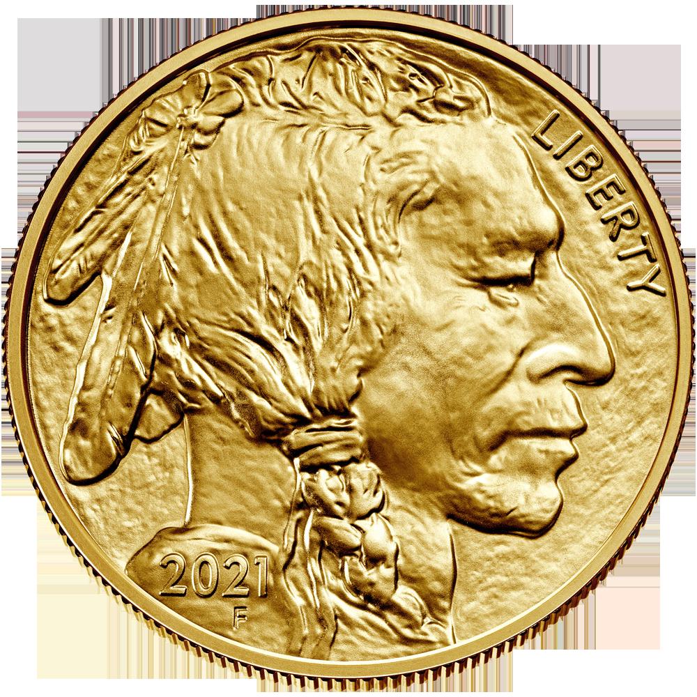 American Buffalo 1 oz Gold 2021