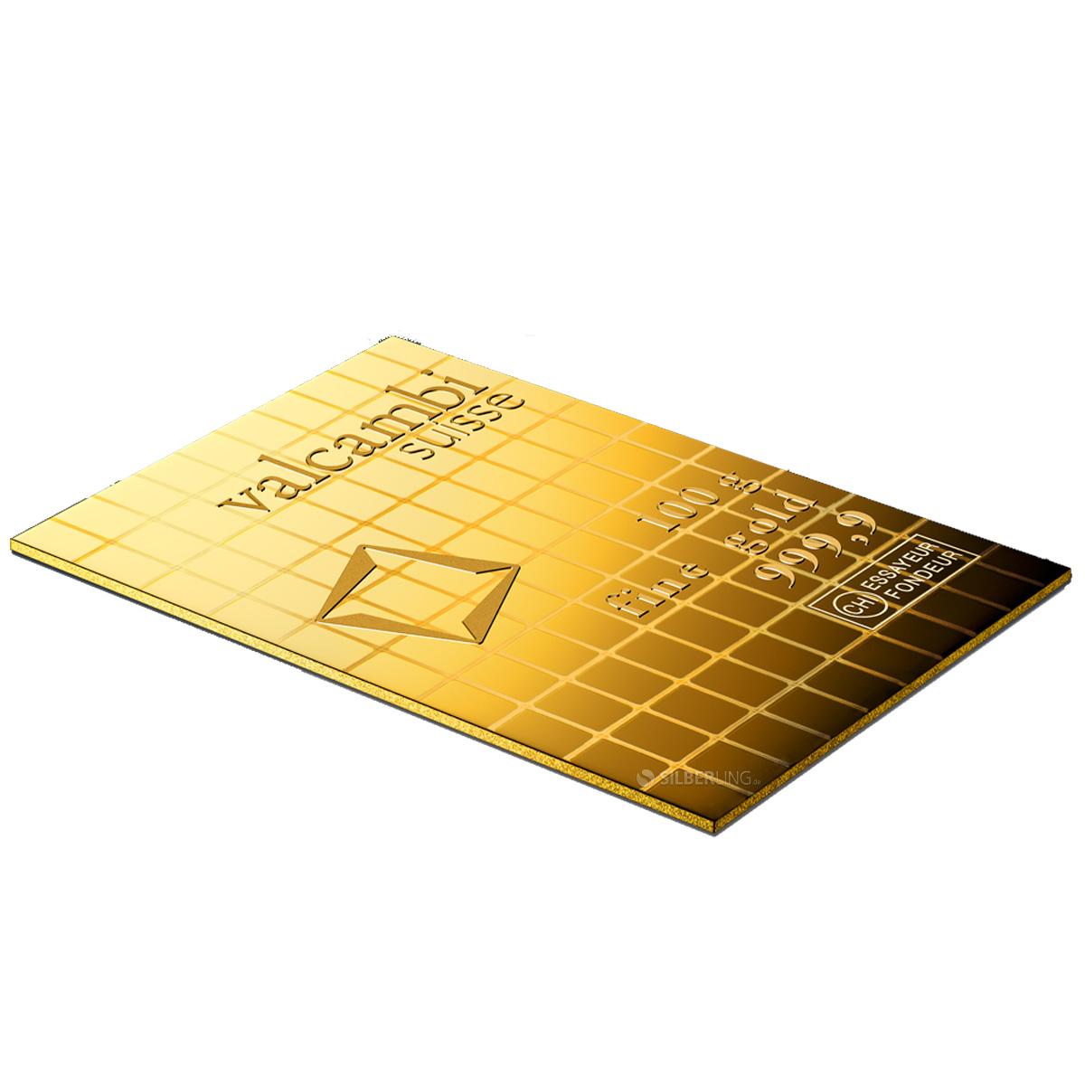 Gold Tafelbaren