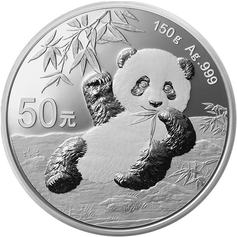 Panda 150 g Silver Proof 2020