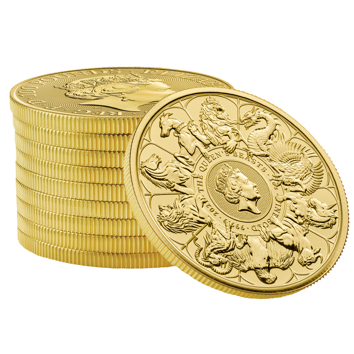 Queen's Beasts Completer Coin 1 oz Gold 2021
