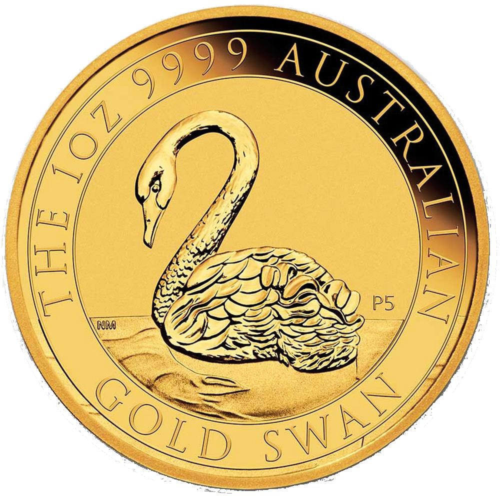 Goldmünze Schwan 1 Unze 2021