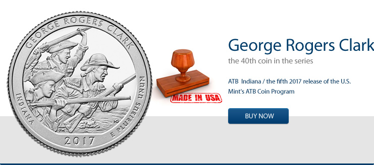George Rogers Clark - America the Beautiful 5 oz jetzt kaufen