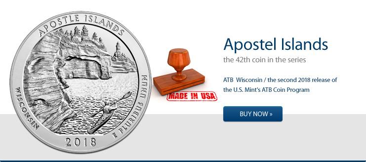 Apostel Islands 2018 - America the Beautiful 5 oz jetzt kaufen