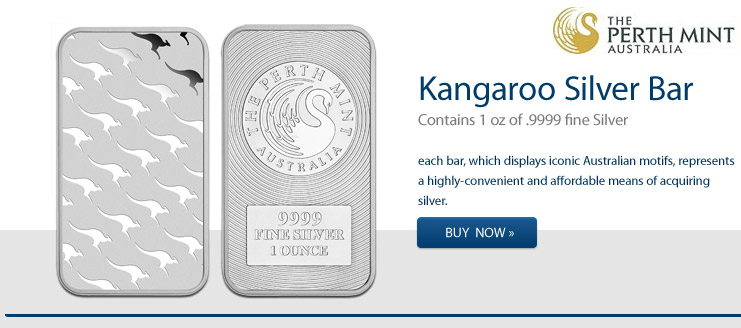 1 oz Kangaroo Silberbarren kaufen