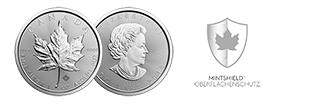 Neues Mintshield für Maple Leaf Silbermünzen schützt vor weißen Flecken